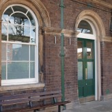 Sash window restorations at Chester Railway Station