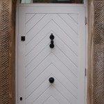 Coach House, Bespoke Door & Frame, Disley