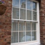 Georgian Bar Double Glazed Sash Window