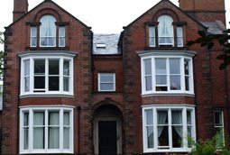 period property with sash windows